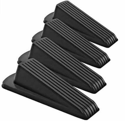 types of door stops: Ducki Soft Rubber Reusable Wall Protector