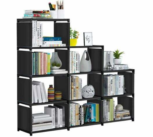Types of Bookcases: VOJUEAR Cube Storage DIY 9-Cubes Closet Storage Bookcase