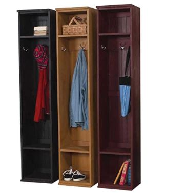 Types of Mudroom Lockers: Sawdust City Home Entryway Locker