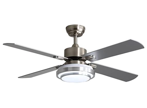 Types of Ceiling fans: warmiplanet Ceiling Fan with LED Light