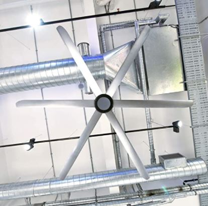 """Types of Ceiling Fans: Big Air 108"""" Ceiling Fan 