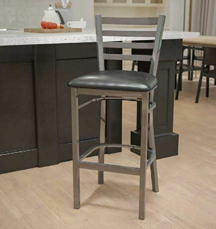 Bar Stool with Backs: AW Furniture Solid Medium Oak Windsor Back Swivel Turned Counter 24-inch Bar Stool