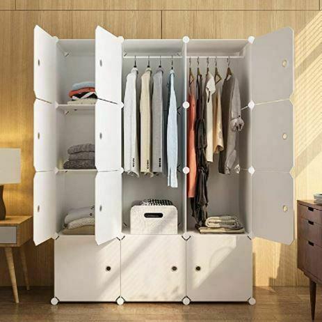 Types of Closets: KOUSI Portable Wardrobe Closets