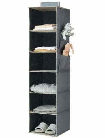 Types of Closets: YOUDENOVA Hanging Closet Organizer