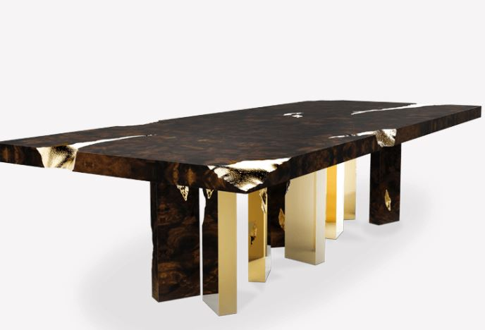 types of tables: Empire Dining Table