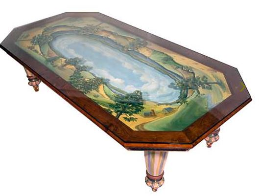 types of tables: Diorama Dining Table for 12